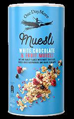 Fruit and White Chocolate Muesli OneDayMore